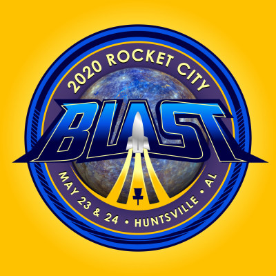 2020 Rocket City Blast logo