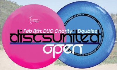Discs United Open   Charity Doubles logo