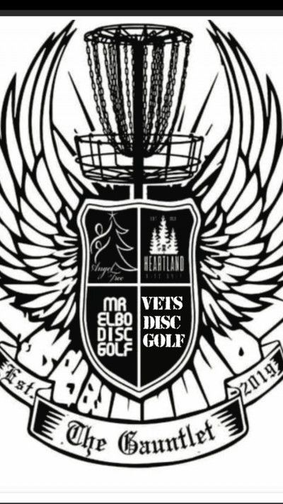 The Gauntlet Presented by Vets Disc Golf logo