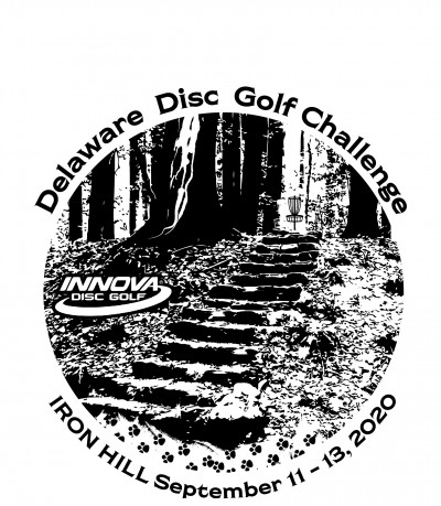 Delaware Disc Golf Challenge - National Tour logo