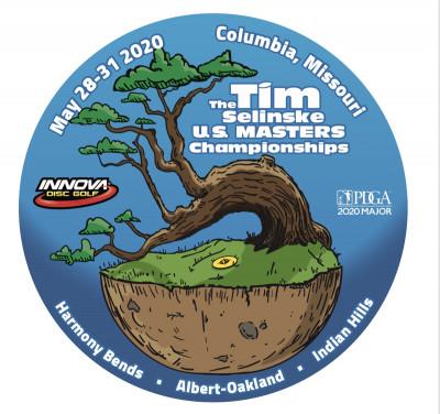 2020 PDGA Tim Selinske U.S. Masters Championships logo