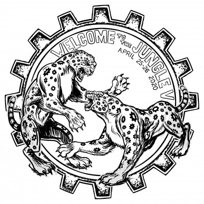 Discmania Presents Welcome to the Jungle V - Pros only logo