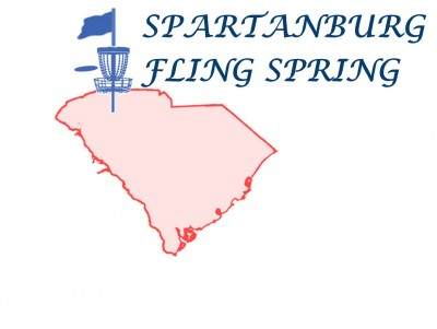 Spartanburg Fling Spring Sponsored by Discraft logo