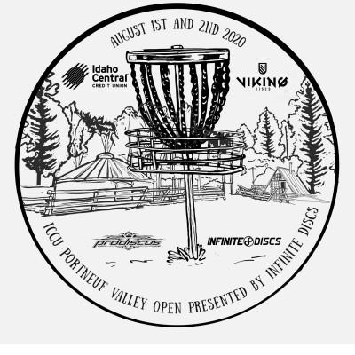 ICCU Portneuf Valley Open presented by Infinite Discs logo