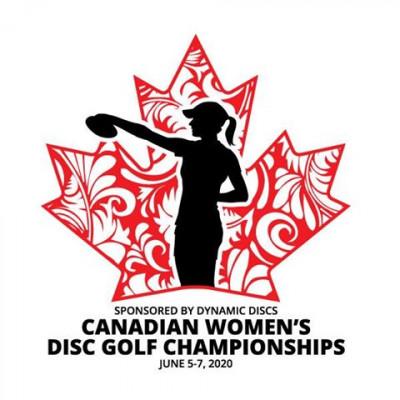 Canadian Women's Disc Golf Championships logo