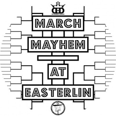 March Mayham at Easterlin Park powered by TRI-FLY Disc Golf logo