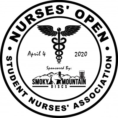 Nurse's Open Sponsored by Smoky Mountain Discs logo