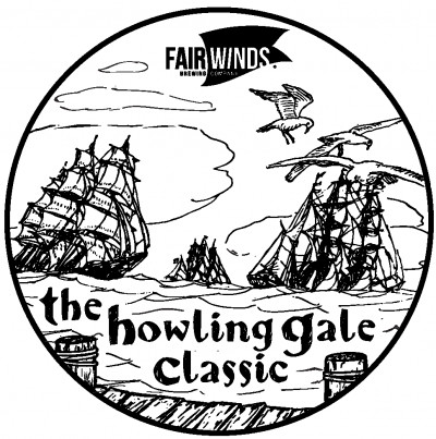 The 2nd Annual Howling Gale Classic sponsored by Fair Winds Brewing Company and Latitude64 - All AM except MA1 logo