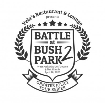 Battle at Bush Park 2 - Presented by Vela's Restaurant & Lounge - Driven by Innova Discs logo