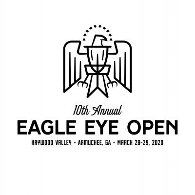 The Eagle Eye Open - 10th Edition - GSS #2 logo