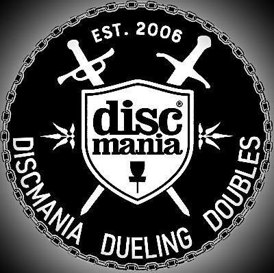 Discmania Dueling Doubles logo