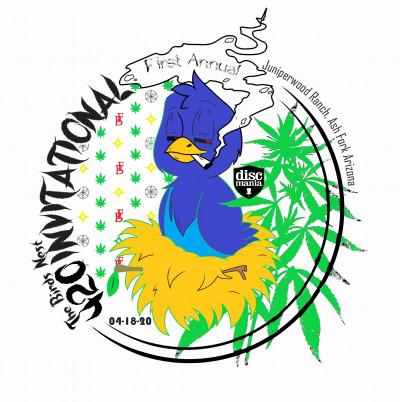 The First annual bird's nest 420 invitational logo