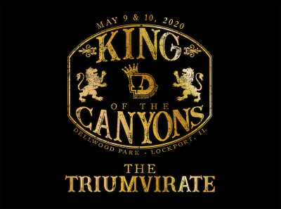 King of The Canyons 3: The Triumvirate logo