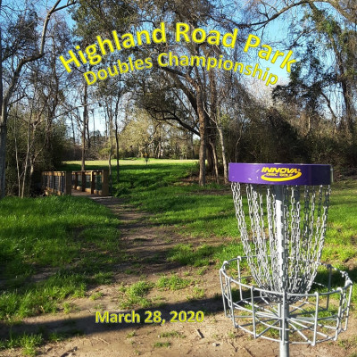 Highland Road Park Doubles Championship presented by The Billiard Brothers logo