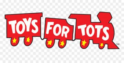 Toys For Tots Disc Golf Tournament logo