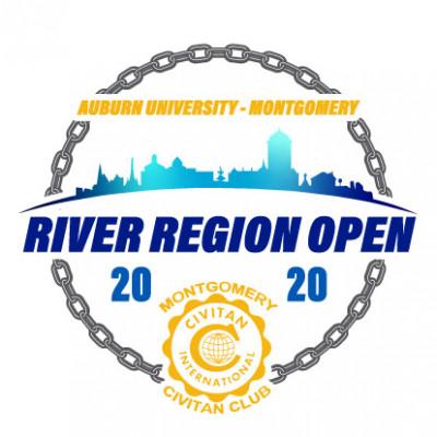 The 2020 River Region Open logo