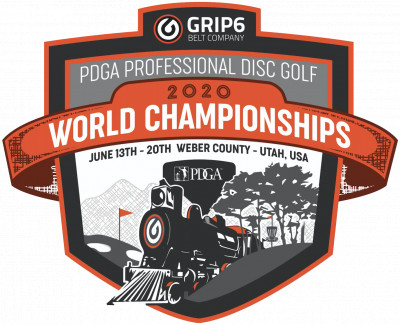 2020 PDGA Professional Disc Golf World Championships logo