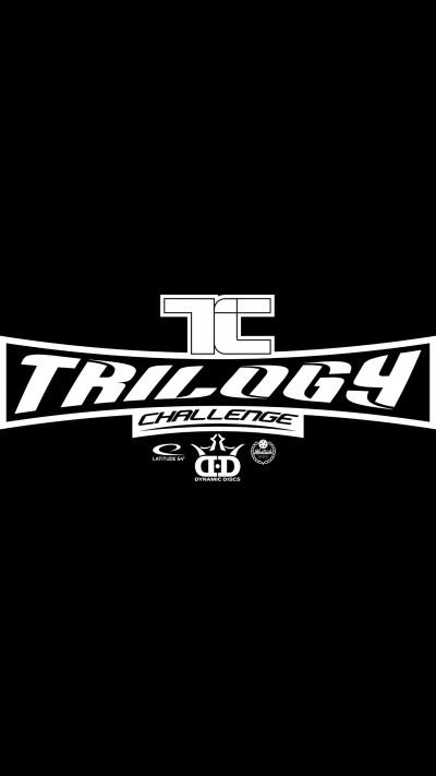 Trilogy challenge Travis White Disc Golf Park El paso logo