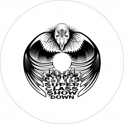 Super class show down logo