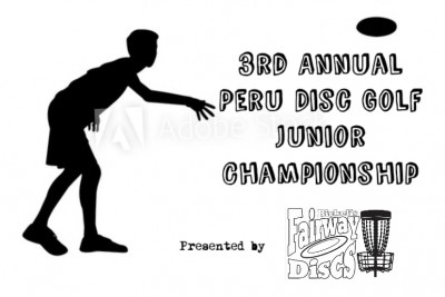 3rd Annual Peru Disc Golf Junior Championship presented by Fairway Discs logo