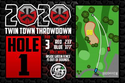 ONE SHOT @ Brookview logo