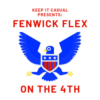 Keep It Casual Disc Golf presents: The Fenwick Flex on the 4th logo