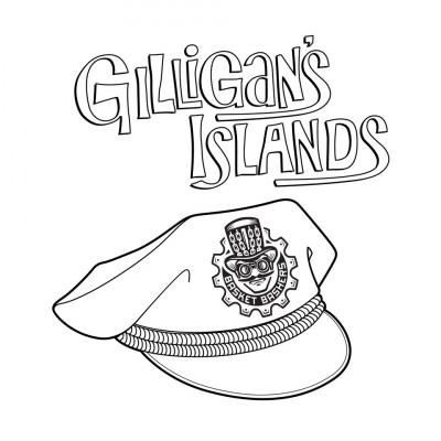 Gilligan's Islands Sponsored by Basket Bashers logo