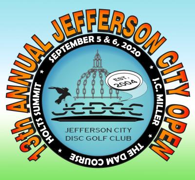 13th Annual Jefferson City Open logo