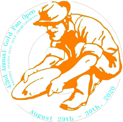 42nd Gold Pan Open - Western States Disc Golf Championships logo