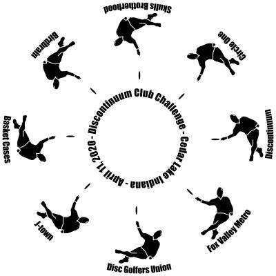 2020 Discontinuum Club Challenge Invitational logo