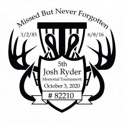 5th Annual - Josh Ryder Memorial - Disc Golf Tournament logo