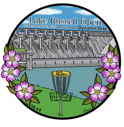 22nd Annual Lake Russell Open sponsored by Dynamic Disc, GSS # 4 logo