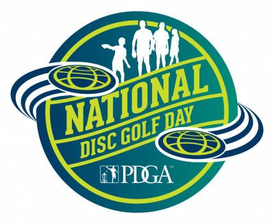 National Disc Golf Day at Bluemont Park logo