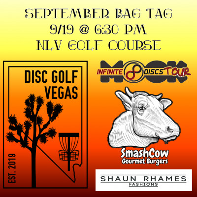 DGV September Bag Tag / DGV Discs for Kids Launch logo