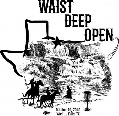 Waist Deep Open presented by Cullers Construction and Dynamic Discs logo