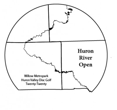 Huron River Open logo