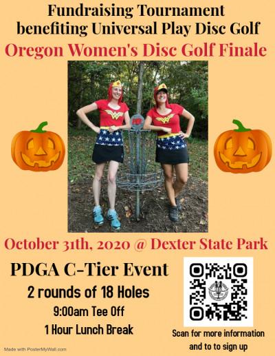 Oregon Women's Disc Golf Finale logo