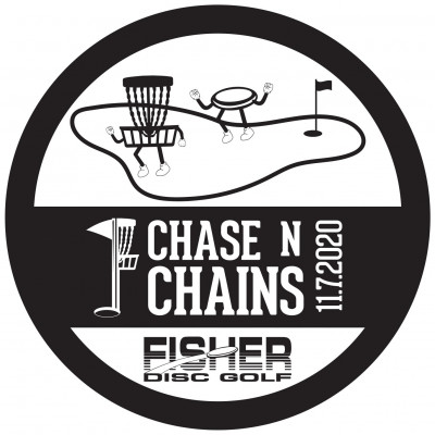 Chase N Chains presented by Fisher Disc Golf logo