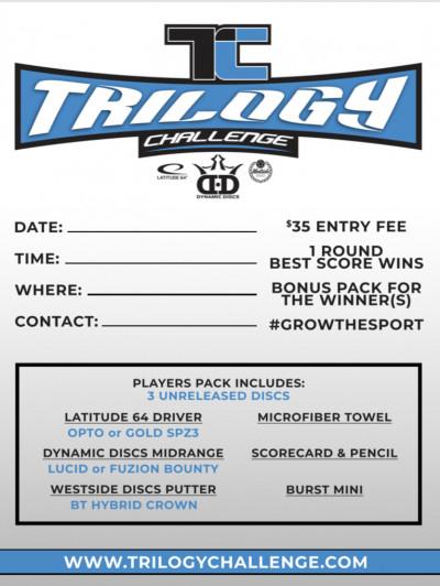 Basket Bomber Trilogy Challenge - Doubles Event logo