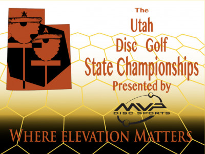 Utah Disc Golf State Championship 2020 Presented By MVP Disc Sports logo