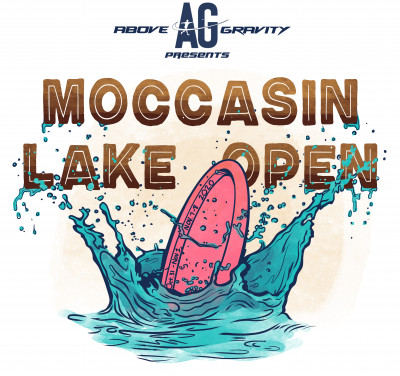 2020 Moccasin Lake Open AM weekend presented by Above Gravity logo