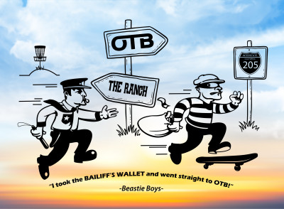 Bailiff's Wallet - an OTB Boutique event logo