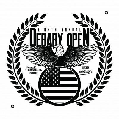 2020 DeBary Open presented by Disc Golf Center logo