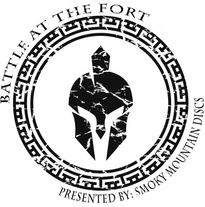 Battle at the Fort - Presented by Smoky Mountain Discs logo