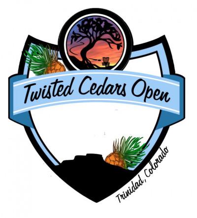 Twisted Cedars Open 2021 +WGE logo