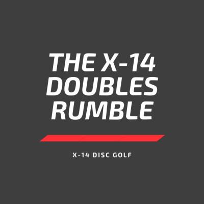 The X-14 Doubles Rumble logo