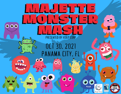 2nd Annual Majette Monster Mash presented by Koep Corp logo