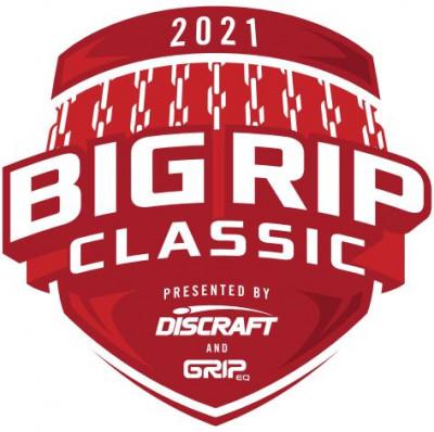 2021 Big Rip Classic Presented by Discraft & Grip-Eq logo
