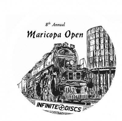2021 8th Annual Maricopa Open presented by Infinite Discs logo