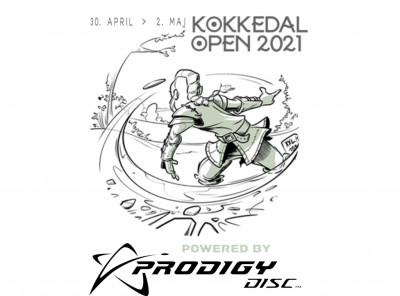 ET#1 - Kokkedal Open Powered By Prodigy Disc logo